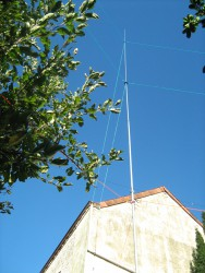 Antenne HF for the DX outside europe